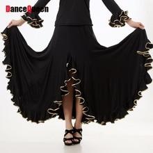 Clothing For Ballroom Dancing Flamenco Dance Skirt Waltz Dance Dresses Standard Ballroom Skirts Competition/Performance/Practice