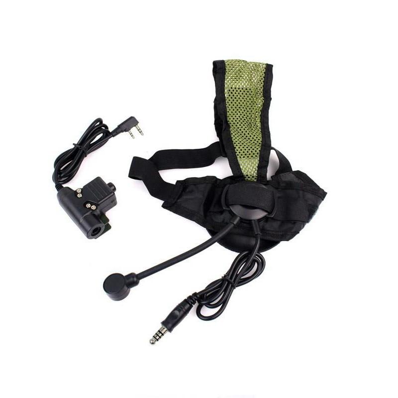 Casque avec PTT 2 broches pour Kenwood Radio Comunicador talkie-walkie