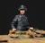 Escala montagem 1/35 WSS Tigre Tripulação Comandante Unpainted figura do soldado DA SEGUNDA GUERRA MUNDIAL Resina Modelo Frete Grátis
