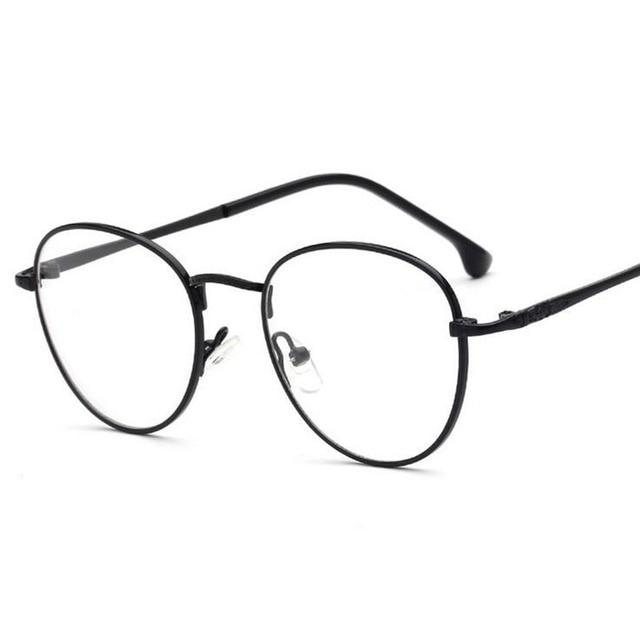 c0b873a944 New Stylish Vintage Transparan Kacamata Bingkai Kacamata Eyewear Untuk  Komputer Kantor Gadis Kacamata Kacamata Bingkai