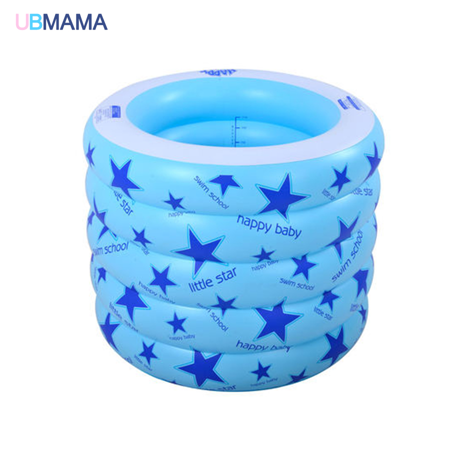 4th plancher isolation gonflable rond en plastique sécurité fond gonflable sans odeur bébé nageur nouveau-nés bébé baignoire piscine