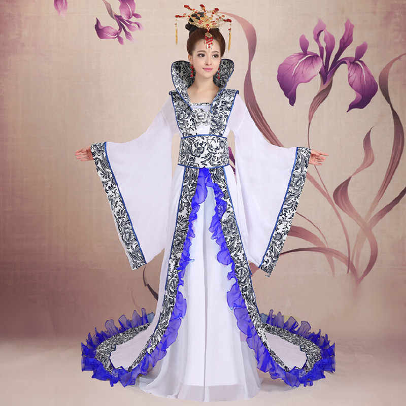 089cc521d Princess Fairy Clothes Tang Suit Hanfu Costume Dress Chinese ancient costume  Traditional Costume Dress