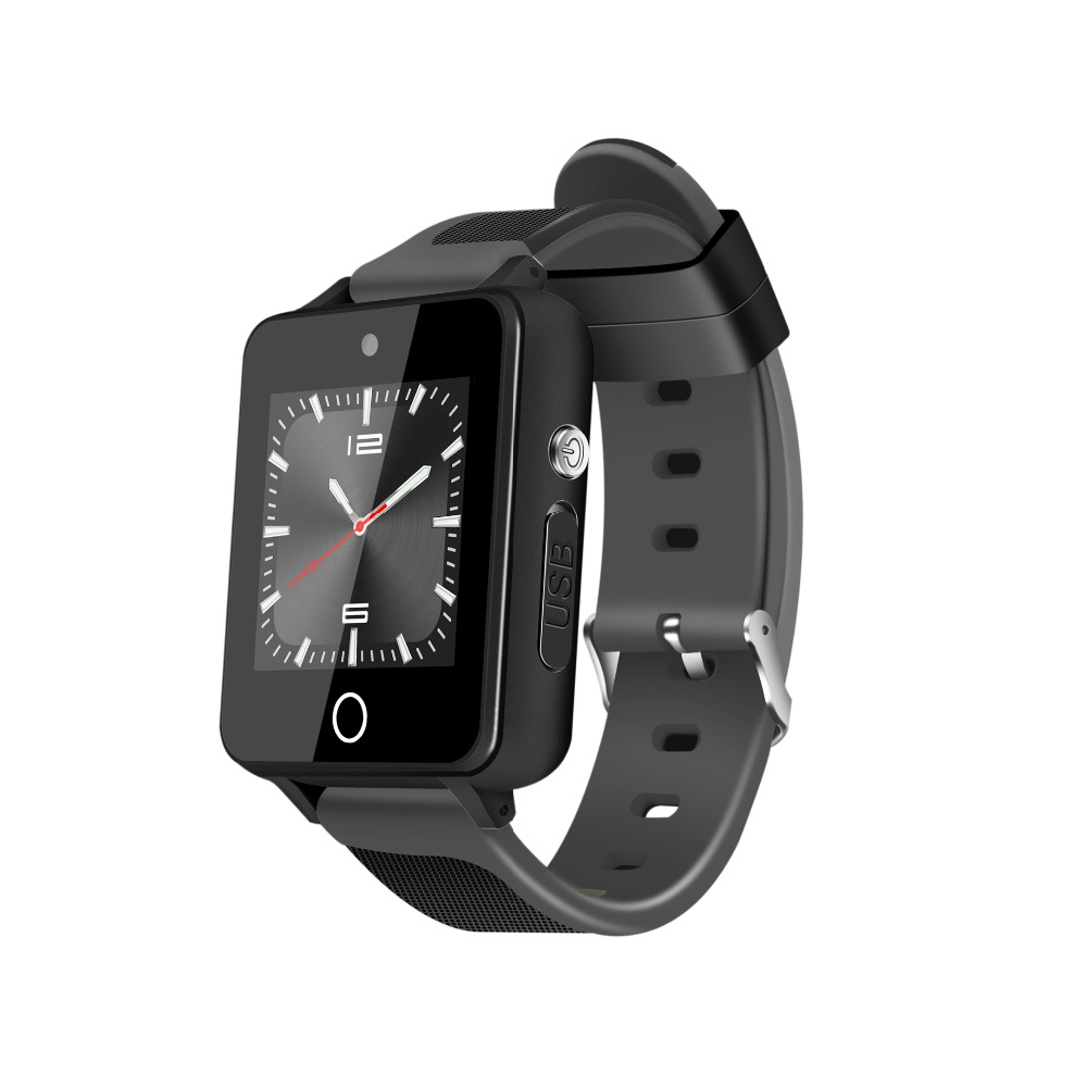 ZGPAX S9 montre intelligente Android 5.1 Mtk6580 1 GB + 16 GB prend en charge la carte SIM TF Bluetooth 4.0 3G GPS Wifi SmartWatch avec 2.0 caméra-in Montres connectées from Electronique    2