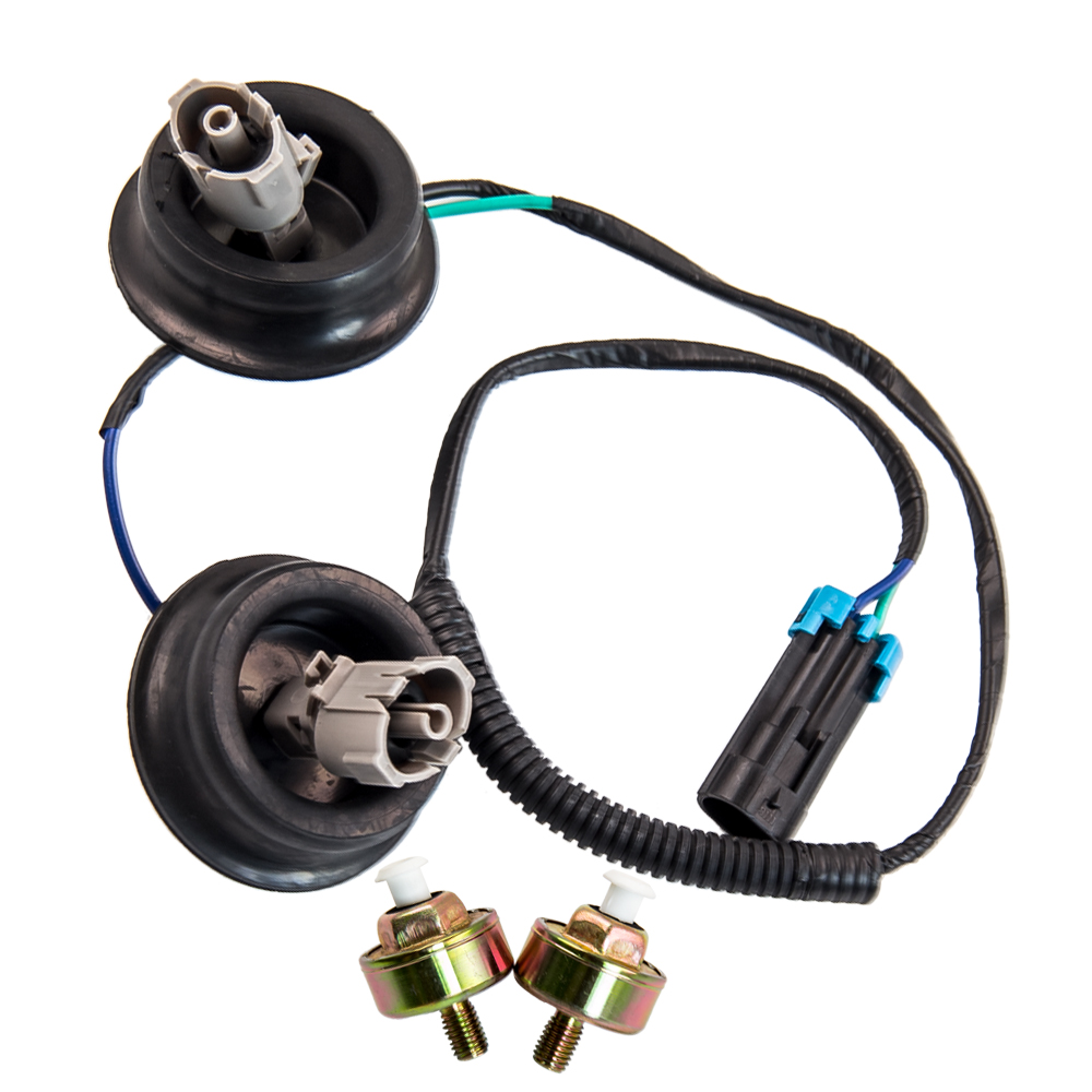 Carbole Wire Harness Connector Engine Dual Knock Sensors Kit For Gm Wiring Terminals Chevy Gmc Silverado Sierra Cadillac 12601822 10456603