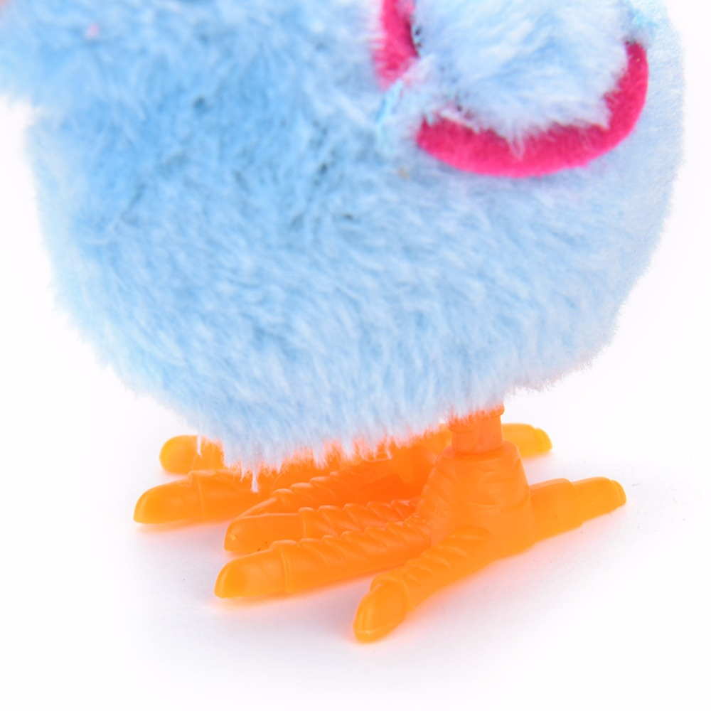 1pcs Cute Chicken Suitable For Kids Classic Baby Toys Walking Upspring Wings Blue Clockwork Developmental Toddler Wind Up In From Hobbies On