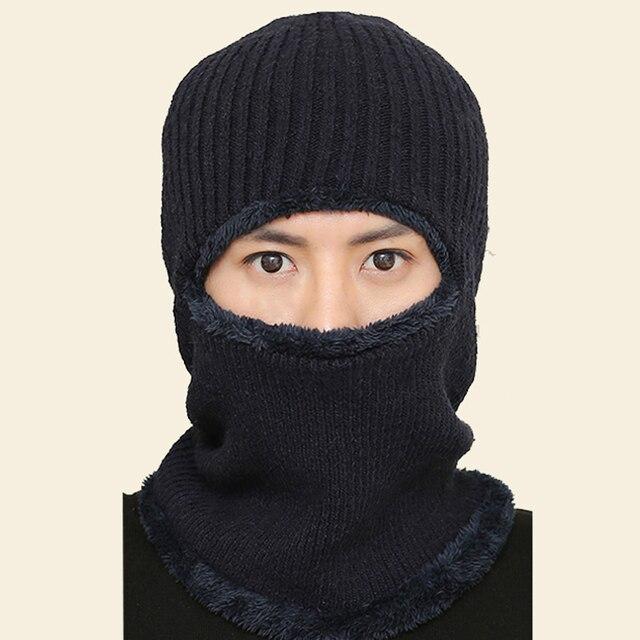 Последние Лидер продаж Мультифункциональный Вязаная Шапка Балаклава маска зимняя шерсть Шапки для взрослых обувь для мужчин и женщин шапочки толстые маска