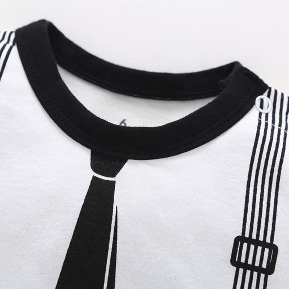 HTB1YOluXozrK1RjSspmq6AOdFXaG Baby Boy Girls Toddler Romper Infant Kids Spring Autumn Print Striped Clothes Casual Romper Playsuit Jumpsuit 30