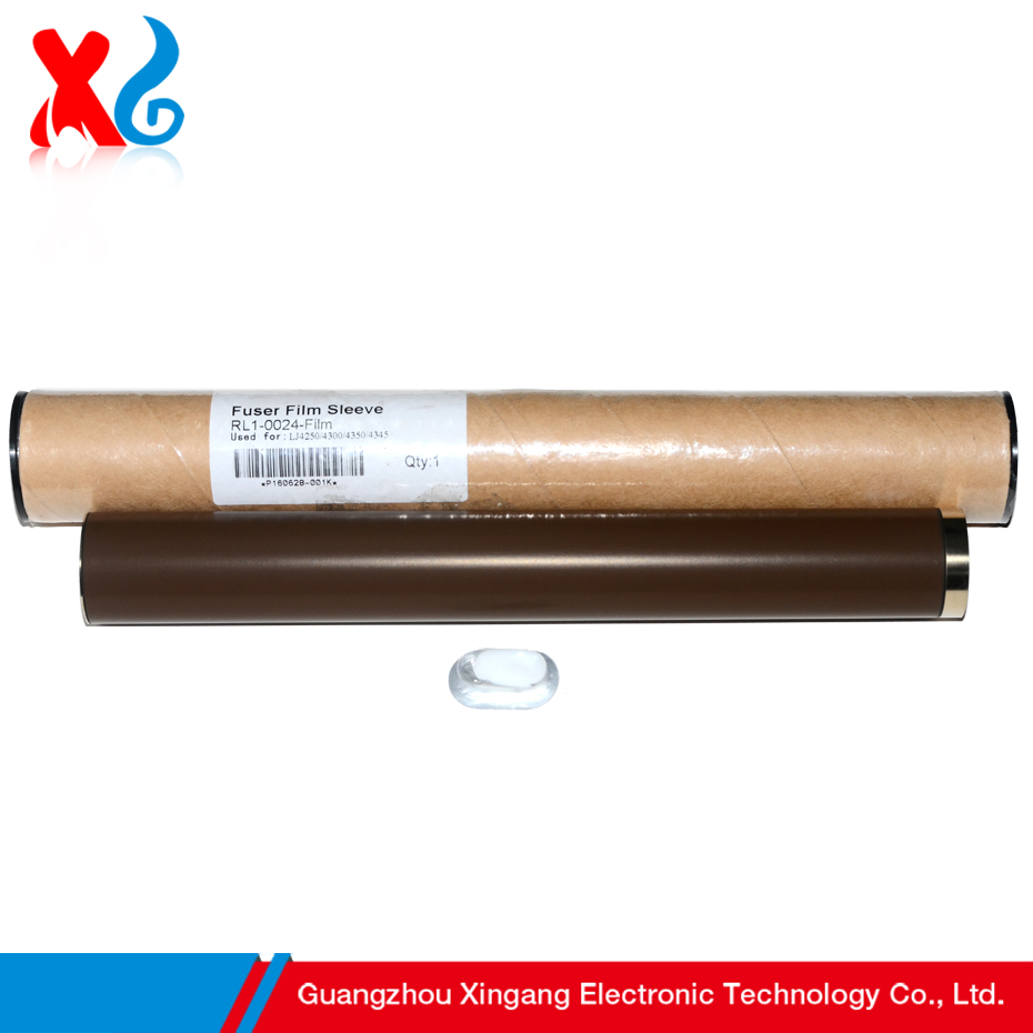 Japan Material Compatible Fuser Film Sleeves Replacement for HP LaserJet 4300 4345 MFP M4345 4345MFP 4250 4350 High Quality