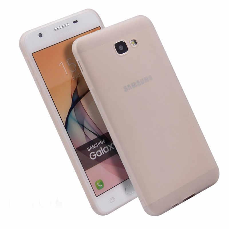 Matte TPU Silikon Lembut Kembali Case PENUTUP UNTUK Samsung J3 J5 J7 Pro J310 J510 J530 J320 J330 J710 J730 2016 2017 J2 J5 J7 Perdana