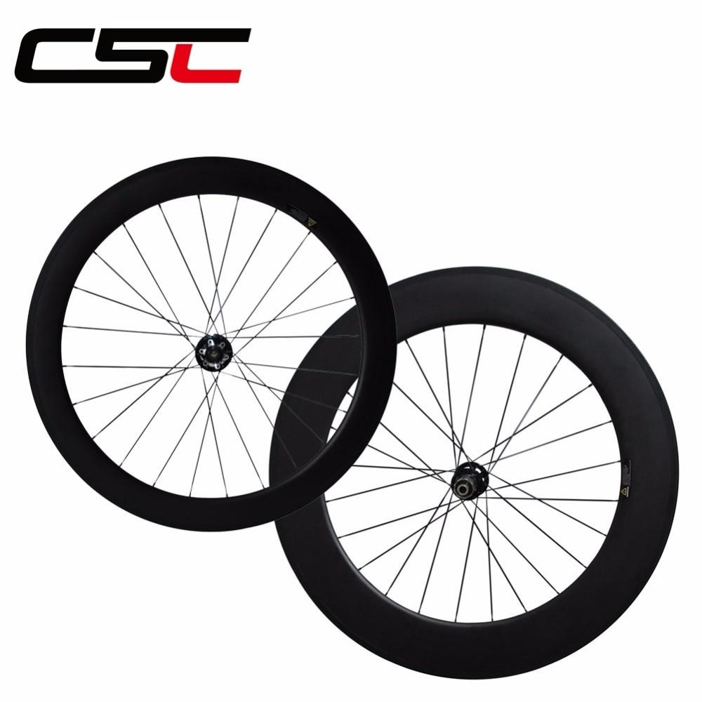 CSC Novatec hub with full carbon wheels 38//50//60//88mm clincher//tubular wheel