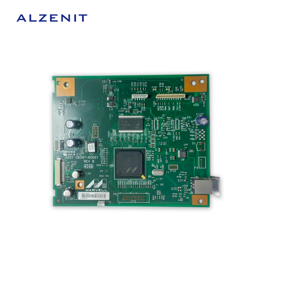 GZLSPART For HP 1005 M1005 HP1005 Original Used Formatter Board CB397-60001 LaserJet Logic Board Printer Parts On Sale  c8165 67060 c8165 60073 c8165 60049 main logic board hp deskjet 9800 original used