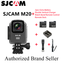 Original SJCAM M20 Wifi Gyro Sport Action Camera HD 2160P 16MP With RAW Format Bluetooth watch self timer lever remote control