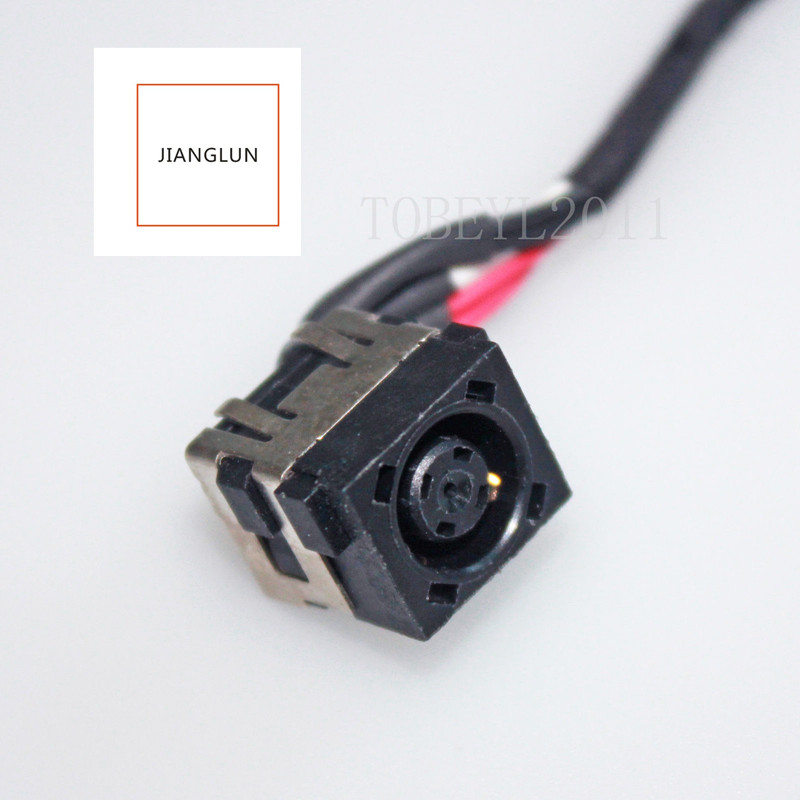 JIANGLUN DC POWER JACK HARNESS CABLE FOR DELL INSPIRON 15R 3521 5521 ...