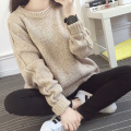 women sweaters and pullovers winter knitted sweater womens sweaters fashion 2015 autumn Korean new plus size pull femme