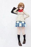 (C2 074) Can Custon Eyes/Hair Handmade Female Silicone Rubber Face Masks Cosplay Mask Crossdresser Doll Kigurumi Anime Role Play