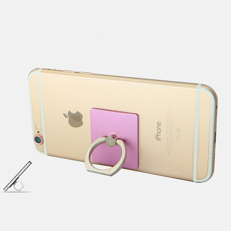 buy popular cf2fd c1d40 US $2.98 |Universal Mobile Phone Holder Clasp Case Cover Stand Ring Stent  Car Hook for iphone 5 6 7 Plus Samsung S6 S7 edge Accessories on ...
