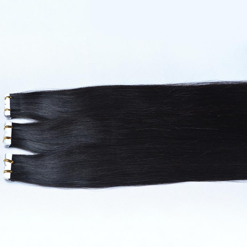 Fashion Straight Hair Wigs Original Virgin Natural Black Wigs Seamless Hair Extension For women