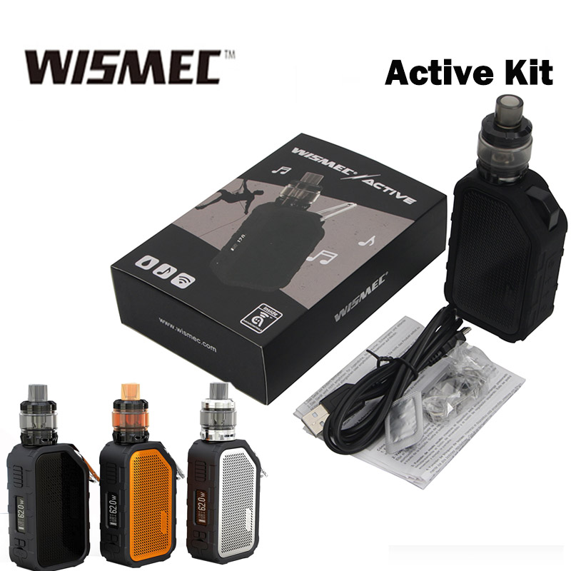 Wismec Active with Amor NS Plus Tank 4 5ml adopte bluebooth waterproof shockproof mod serve as