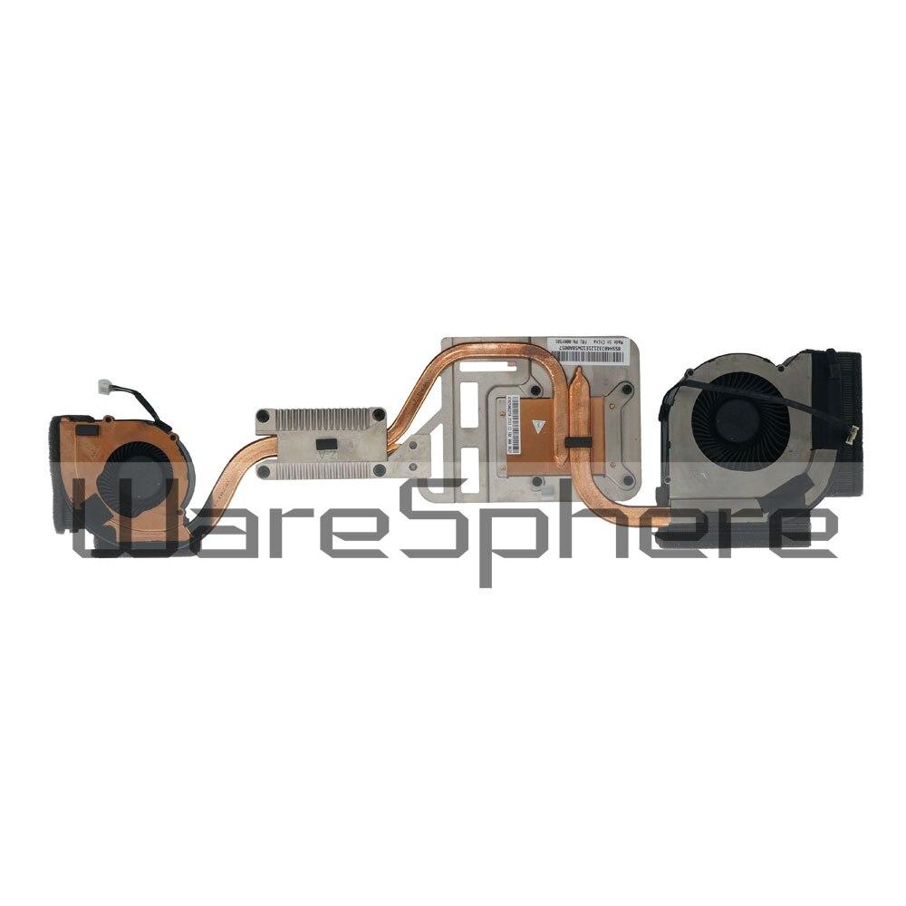 New CPU Heatsink and Fan for Lenovo ThinkPad P70 00NY301 AT0Z5002DT0 genuine for lenovo thinkpad yoga 14 cpu cooling fan heatsink 00hn607