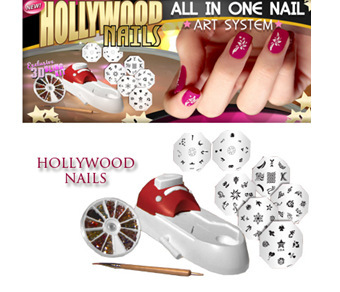 Hollywood Nails Nail art machine-in Nail Art Equipment from Beauty ...