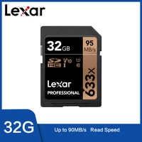 Lexar tarjeta de memoria tarjeta sd Original gb 16 gb 32 gb 128 gb U1 SDHC gb 64 gb U3 SDXC de alta velocidad 95 MB/S para cámar