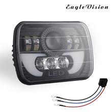 цена на 5 x 7 /4 x 6 Inch 300W 30000LM Car LED Headlight Bulbs Hi-Lo Beam DRL Auto Light Lamp for Off-road Vehicle Truck Bus Cars