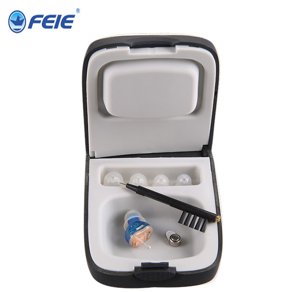 Feie Brand Invisible CIC Hearing Aids Noise Reduction Wireless Digital Hearing Aid S-13A for Medicine devices feie hearing aid s 10b affordable cheap mini aparelho auditivo digital for mild to moderate hearing loss free shipping