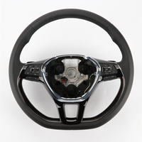Black Color Multifunction Steering Wheel W/ Heated 1pc For VW Jetta MK6 5NG 419 091 D CYT