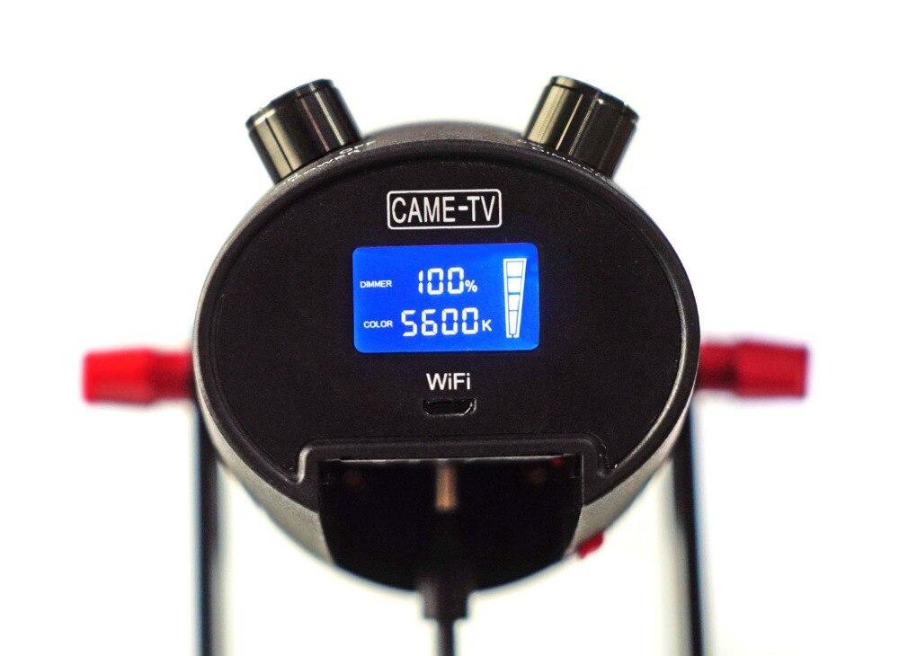 Image 2 - 1 шт. CAME TV Boltzen 30 Вт Fresnel безвентиляторный Фокусируемый светодиодный дневной свет-in Аксессуары для фотостудии from Бытовая электроника