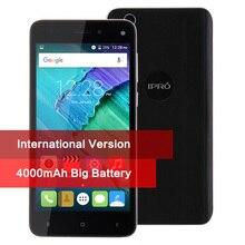 Оригинальный ipro более 5.0 мобильный телефон сотовый телефон Quad Core 5.0 «Android 5.1 Celular WCDMA Dual SIM 4000 мАч GPS смартфон