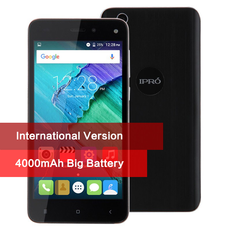 Original IPRO More 5 0 Unlocked Mobile Phone 5 0 Inch Touch Android 5 1 Quad