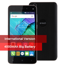 Original IPRO More 5.0 Unlocked Mobile Phone 5.0 Inch Touch Android 5.1 Quad Core 4000mAh Dual Sim GPS Smartphone Global Version