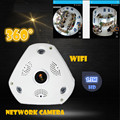 New WIFI IP Camera 360 Fisheye Panoramic Dome Camera 1.3MP 960P CCTV Night Vision Video Surveillance Security  v380