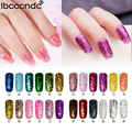 New 24 Colors Shiny Nail Gel Polish Colorful Glitter Sequins Gel Polish UV Soak Off Gel Nail Polish Need UV Led Lamp Gelpolish