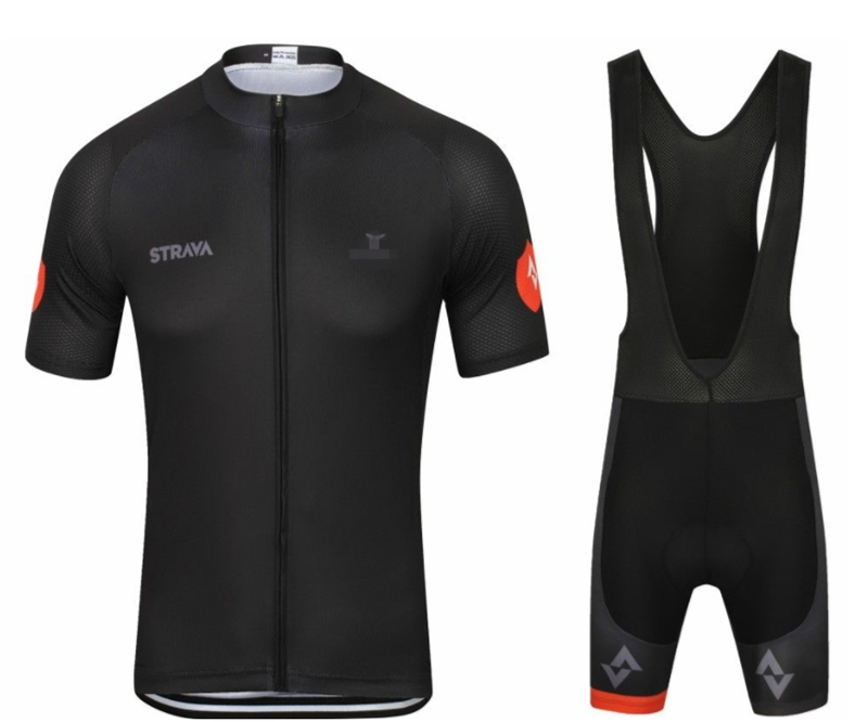 2019 TEAM <font><b>STRAVA</b></font> Cycling Clothing <font><b>Bike</b></font> jersey Ropa Ciclismo Mens Bicycle summer <font><b>shirts</b></font> pro Cycling Jerseys 9D pad <font><b>bike</b></font> shorts image