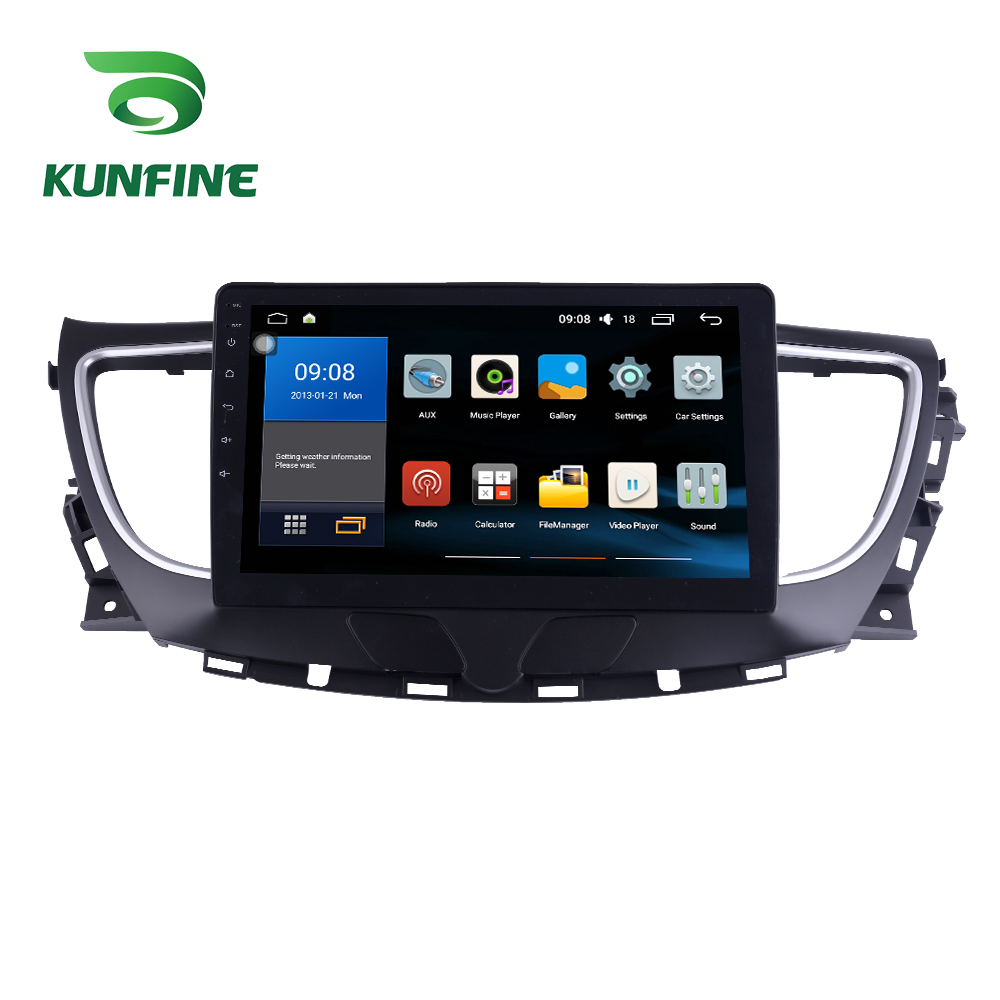 Octa Core 1024*600 Android 8.1 Car DVD GPS Navigation Player Deckless Car Stereo for BUICK Lacross 2016-2018 Radio