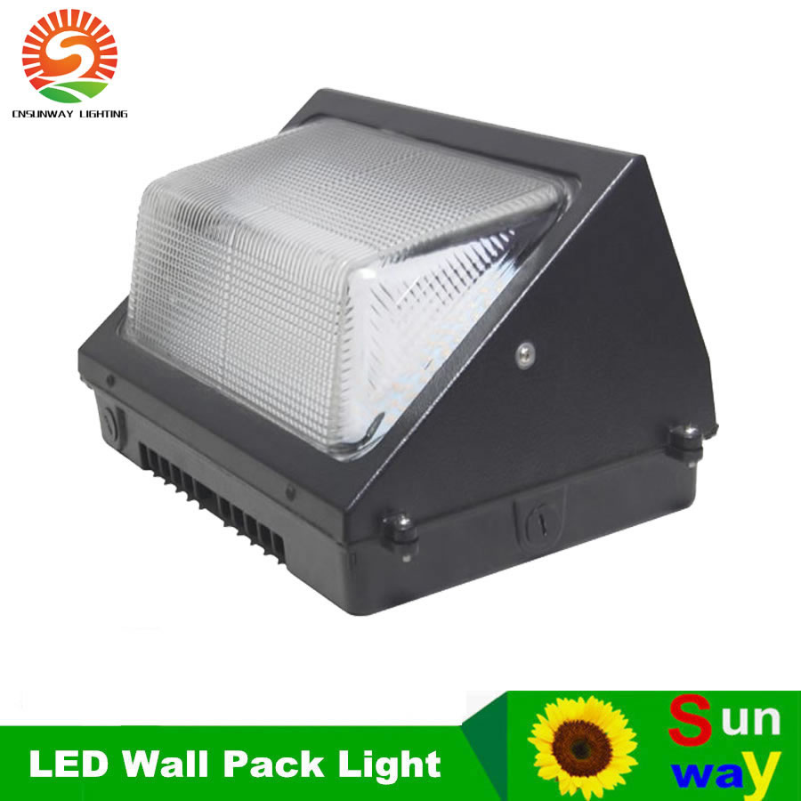 Hyperselect Led 100w Wall Pack Light: UL DLC Outdoor LED Wall Pack Light 100W Industrial Wall
