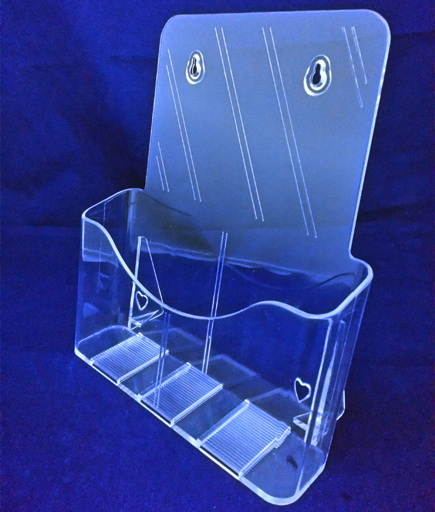 get this clear a4 single tier plastic acrylic brochure literature