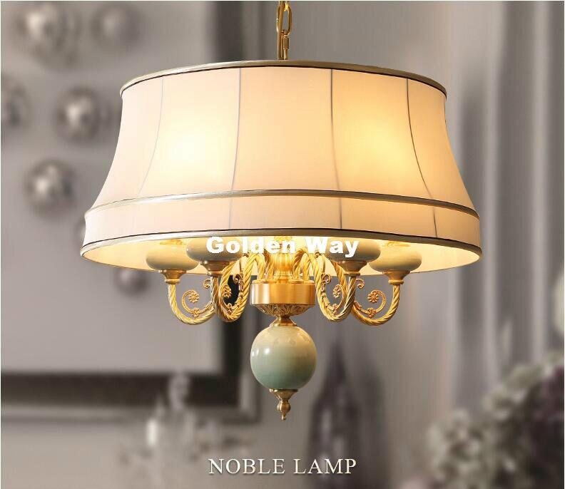 bd56ecb77f0 Modern Nordic Pendant Lamp Bronze Creative Brief Restaurant Lights ...