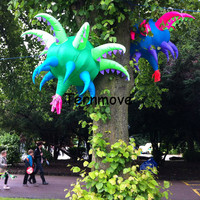giant inflatable flower plants stage ground decoration,inflatable flowers replica inflatable flower tree balloon for stage decor