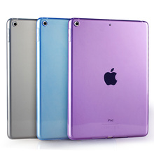 Resistente a los arañazos Delgado Clear Case para Apple iPad Mini 1/2/3 Silicona Crystal Clear Cubierta con TPU Parachoques