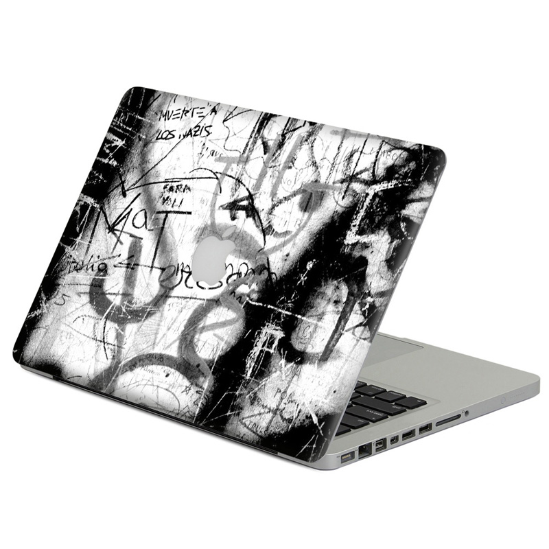Retro Postmark Eiffel Tower Laptop Decal Sticker Skin For Macbook Air Pro Retina 11 13 15 Vinyl Mac Case Body Full Cover Skin Pretty And Colorful Computer & Office