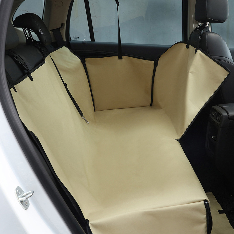 Image 3 - HJKL Oxford Pet Car Seat Covers Waterproof Back Bench Seat Car Interior Travel Accessories Car Seat Covers Mat for Pet Dogs 65Dog Carriers   -