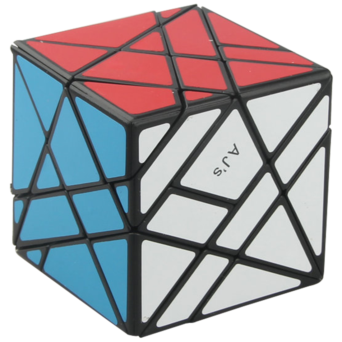 MF8 AJ Duo оси Cube Скорость Magic Cube Puzzle игрушки-красочные