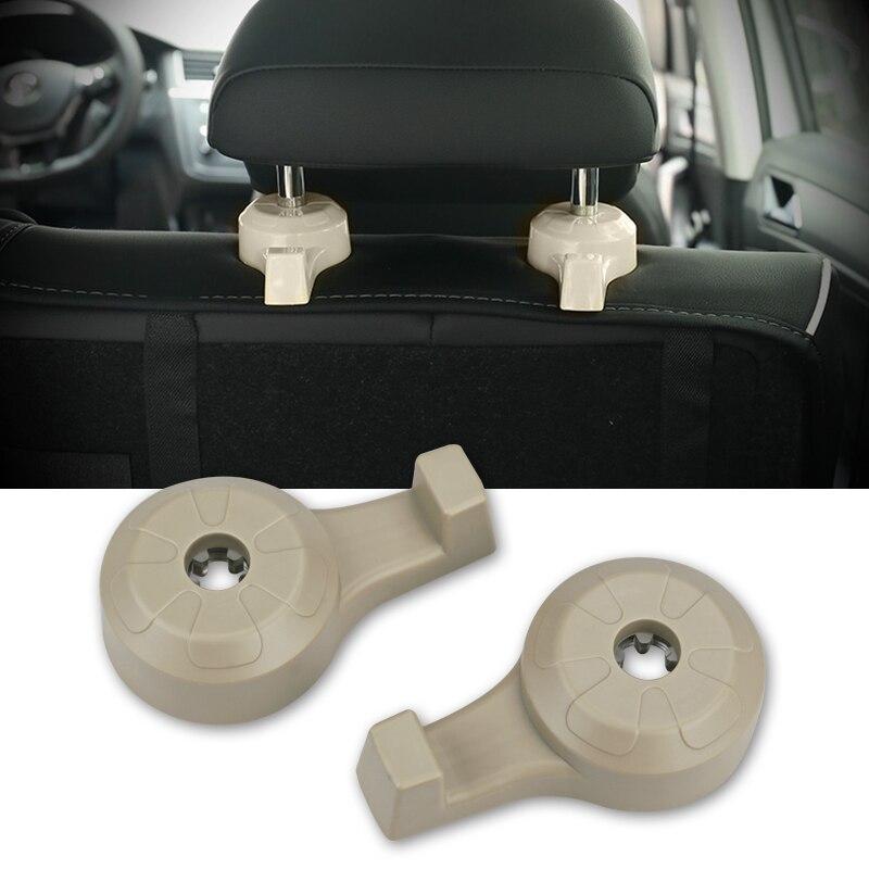 1 Paar 2 Farbe Auto Haken Clip Auto Rücksitz Kopfstütze Aufhänger Für Tasche Geldbörse Tuch Täglichen Lebensmittelgeschäft Auto Halter Innen Zubehör
