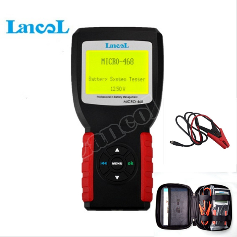 LANCOL Digital Car Truch Battery Conductance  tester Analyzer MICRO-468 cca battery tester 12v