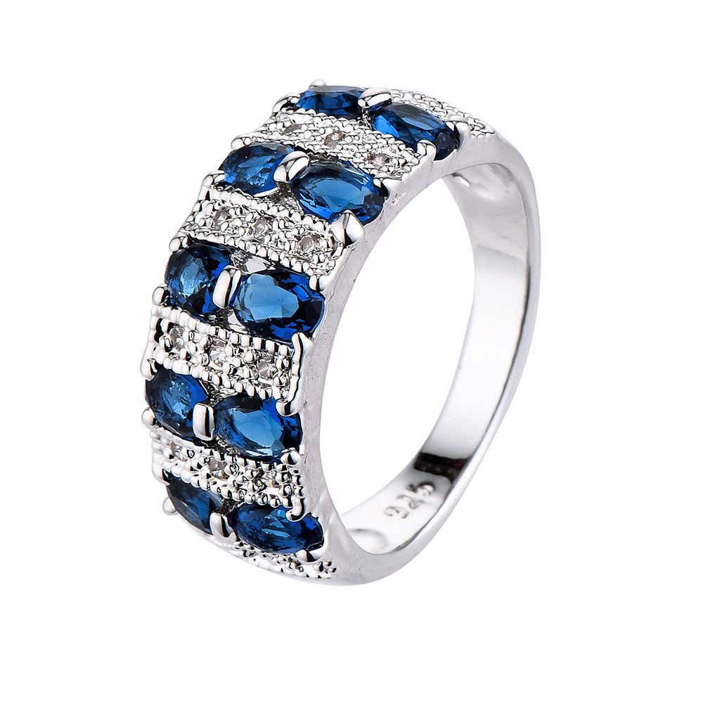Women Rings New Hot Ladies Zircon Ring Manufacturers Creative Wedding  Crystal Rhinestones Dropshipping Jewelry R1005(