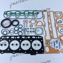 Детали двигателя Yanmar 4TNE84 4D84-3 полный комплект прокладок с прокладкой головки цилиндра