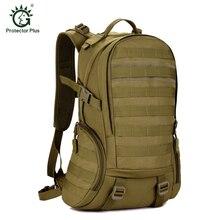 35L Paquete Ejército Mochila Militar Asalto Táctico Molle Bug Out Bag Pequeña Mochila Impermeable para Al Aire Libre que va de Excursión de Caza