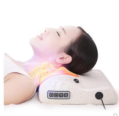 Cervical spine massager shoulder neck shoulder waist massager cushion household multi-function kneading massage job цена